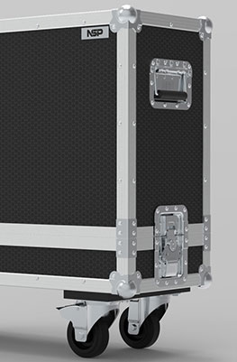 Blackstar Series One 212 Cab Guitar Cabinet Flight Case