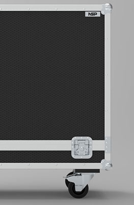 Warwick 4x10 Cab Guitar Flight Case
