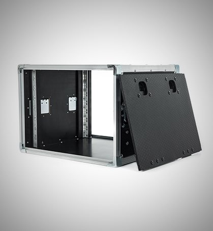 8U Slam Lid Rack Case