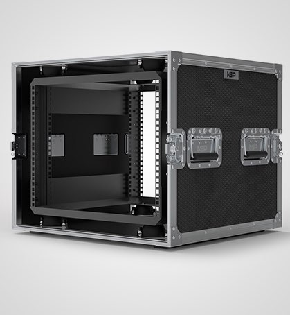 8U Suspended Shockmount Rack Case