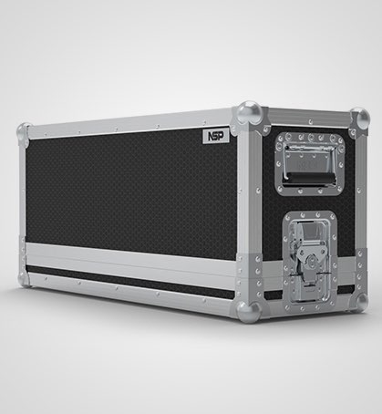 Le Maitre Gforce 2 DMX Smoke Machine Flight Case