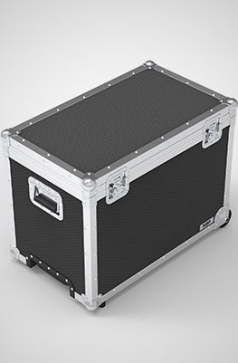 Hilio T12 Lighting Panel Flight Case