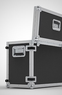 Edge 2400AVL Panel Flightcase
