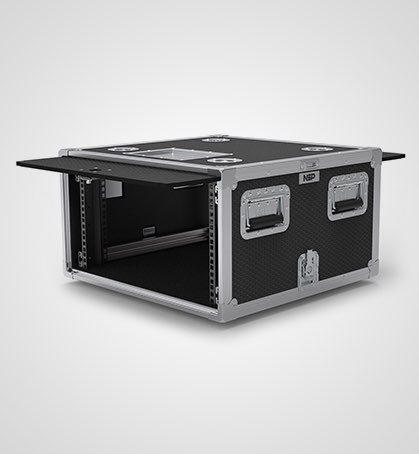 8U Slam and slide Rack Case