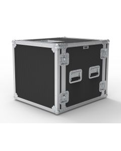 10U Foam Shockmount Rack Flight Case