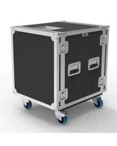 14U Foam Shockmount Rack Flight Case