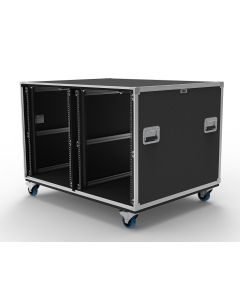 16U Double Slide & Slam Shockmount Rack Case