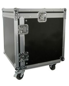 12U 19 inch Equipment Rack with Wheels