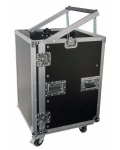16U 19 inch Equipment Rack with Wheels