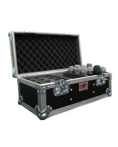 Universal 18 Microphone Flight Case