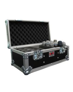 Universal 24 Microphone Flight Case
