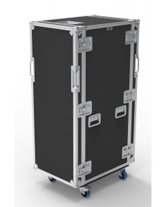 34U Suspended Shockmount Rack Flight Case
