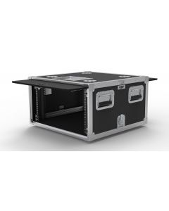 6U Slide & Slam Shockmount Rack Case