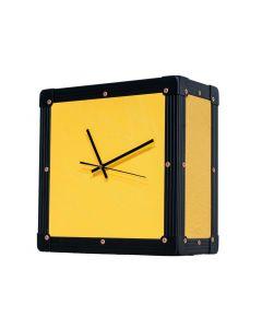 Retro Style Flight Case Clock
