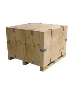 Wooden Reusable Packing Crate - 115 x 115 x 55cm