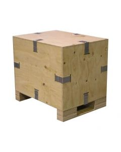 Wooden Reusable Packing Crate - 76 x 55 x 55cm