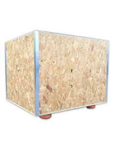 Wooden Packing Crate - 118 x 105 x 90cm