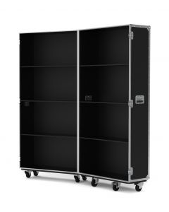 Medium Retail Display Flight Case in Black
