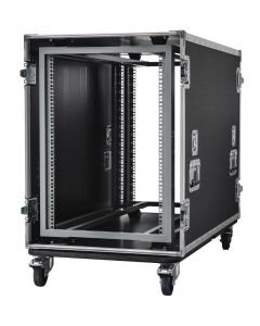 16U Shockmount Data Server Rack Flight Case