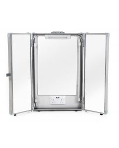 Make-up Mirror Flight Case with Lighting and Power