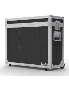 Double 17 inch Custom Screen Flight Case