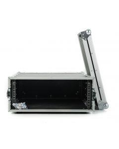 4U Shallow Rack Flight Case - 300mm Deep