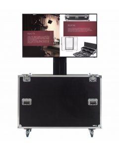 Motorised TV Lift Flight Case For 75 inch Screens