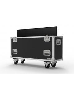 Single 55 inch Custom Screen Flight Case