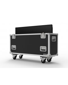 Single 30 inch Custom Screen Flight Case