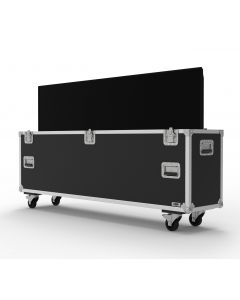 Single 65 inch Custom Screen Flight Case