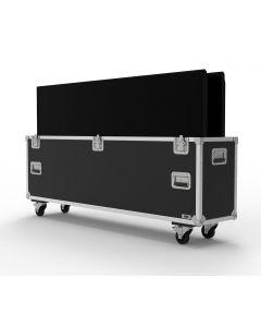 Double 75 inch Custom Screen Flight Case