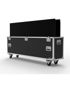 Double 65 inch Custom Screen Flight Case