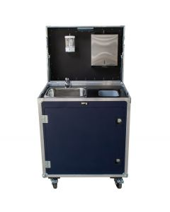 Contact Free Hand Washing Workstation Flight Case