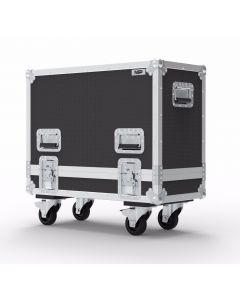Custom Double Speaker Flight Case