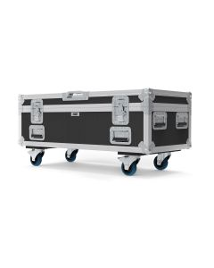 Drum Utility Touring Flight Case with Wheels