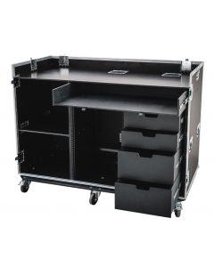 Large Universal Production Case with Drawers and 16U Rack Space