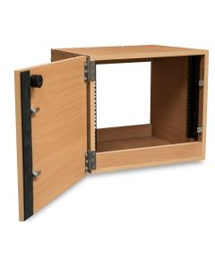 Custom Built 8U Wooden Studio Rack