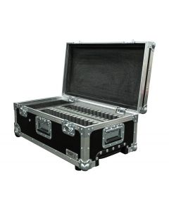Multi Berth Apple iPad Custom Flight Case with Wheels