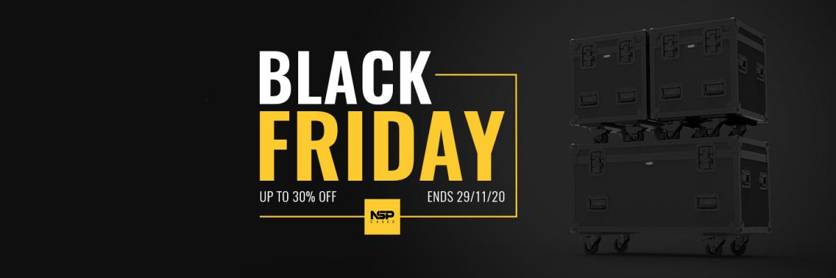 Black Friday Deals Now Live | Flight Cases & Carry Bags