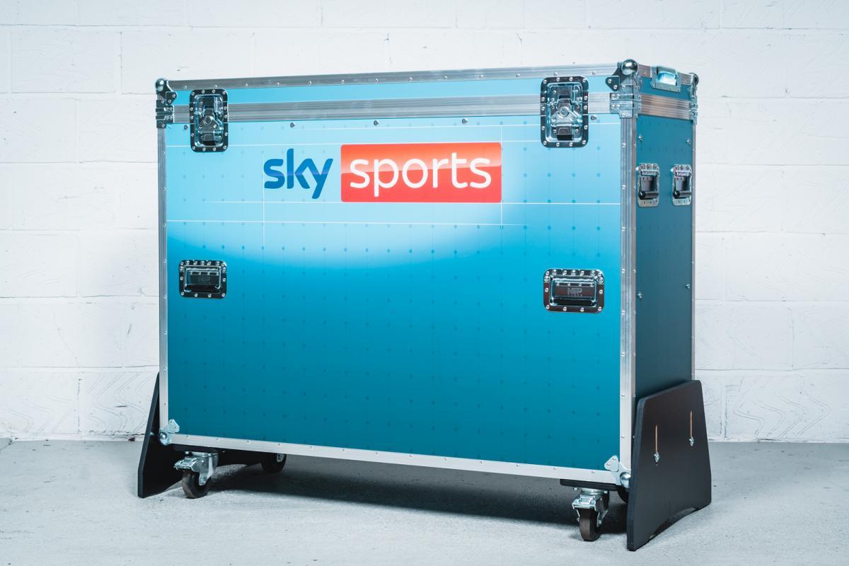 "Sky Sports 55"" Motorised Screen Case | (Flight) Case Study"
